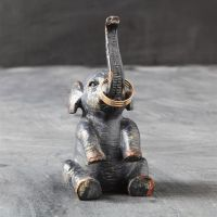 Rustic Elephant Ring Holder// | | Pinterest | Elephant ...
