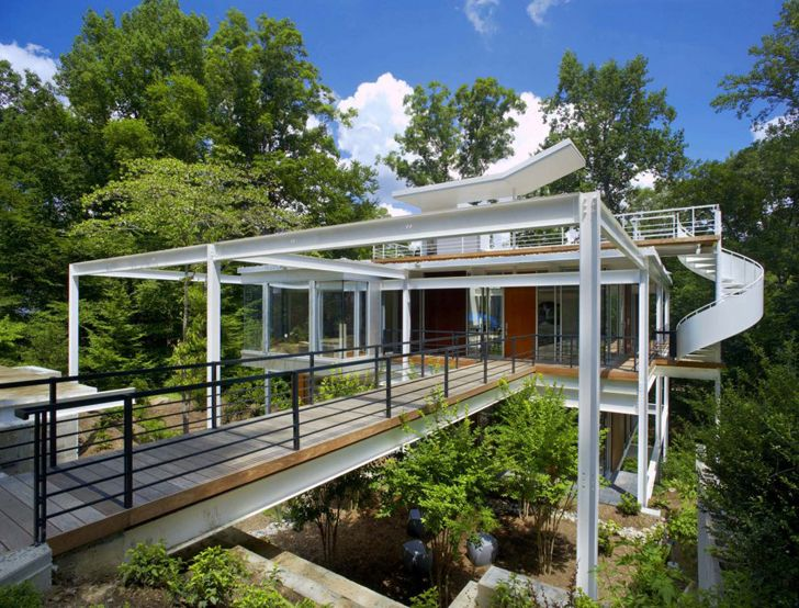 Steel Portal Frame House Construction Google Search Ideas For