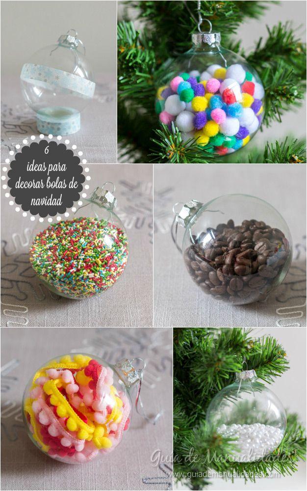 6 ideas para decorar bolas de navidad  bolas de Navidad