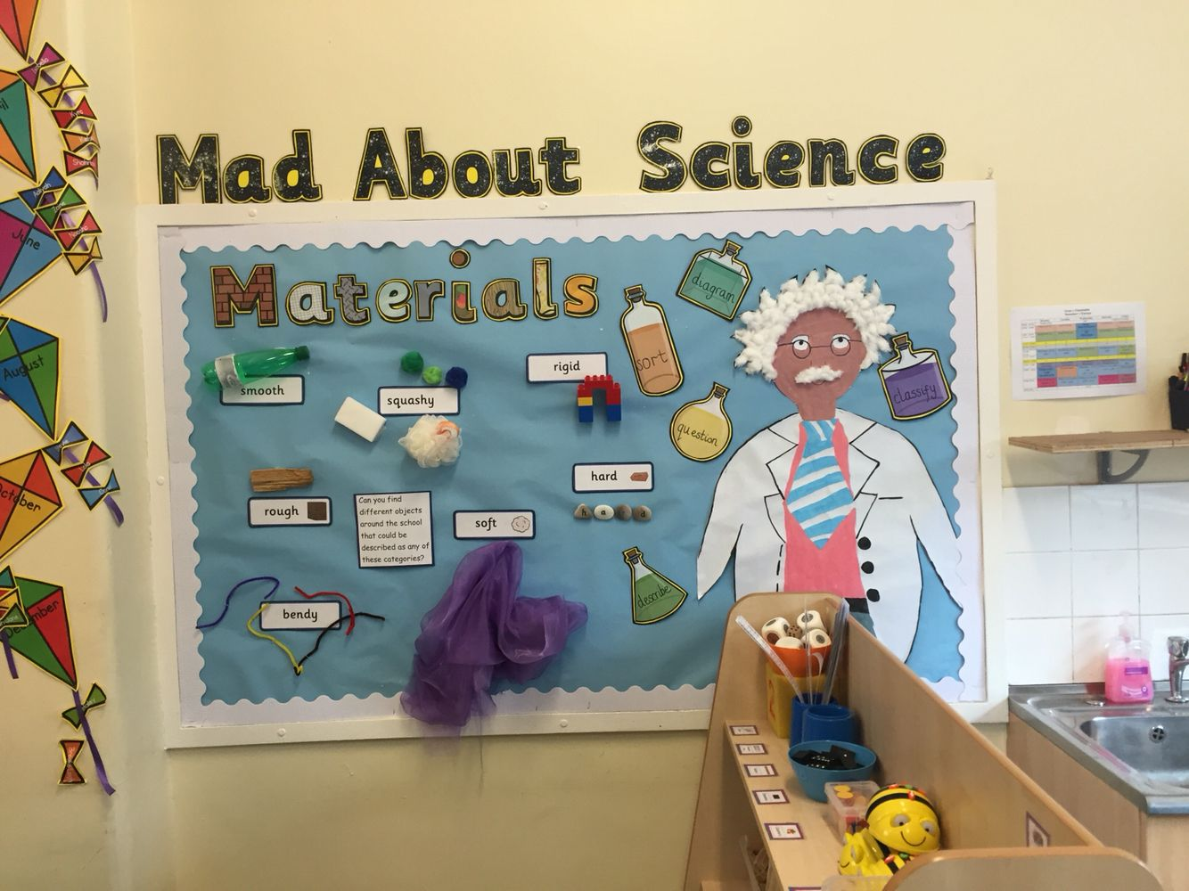 Mad About Science Ks1 Display Materials
