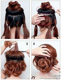 The Six Twist Hair Tutorial Updo Kate Middleton And Searches