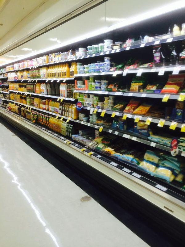 Coles - Sydney Supermarket Food Layout Fixtures