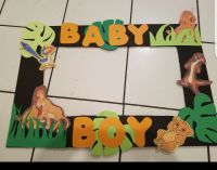 Lion King Photo Frame for babyshower!   baby shower ...