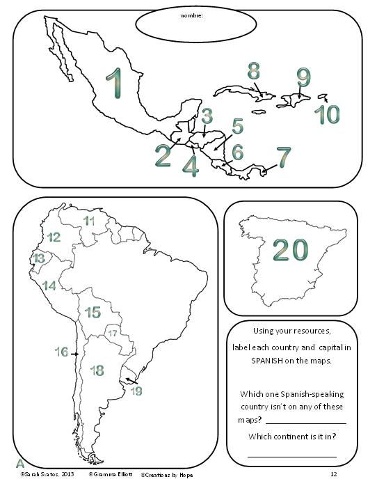 http://www.teacherspayteachers.com/Product/Spanish