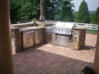 Built in Outdoor Grill Designs | Maryland Custom BBQ Grill ...