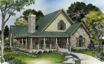 Small Cottage House Plans with Loft