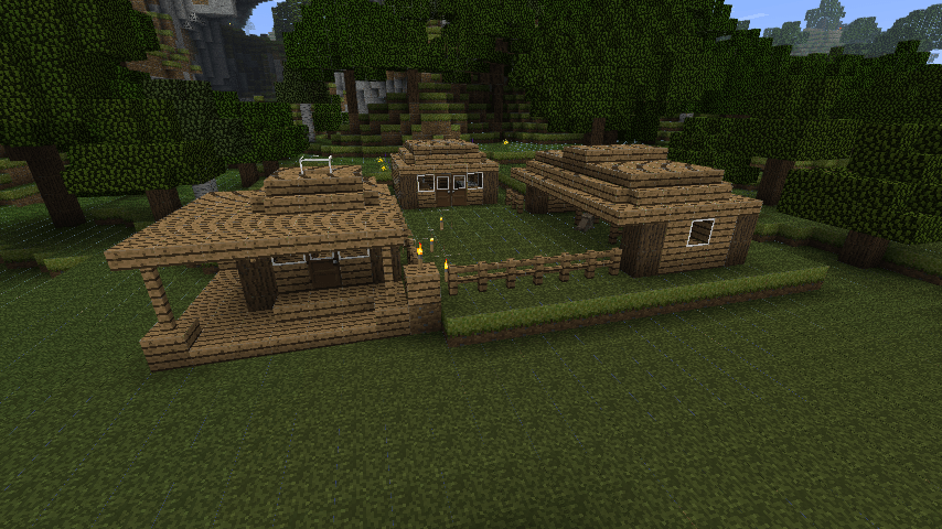WIP Rustic Farm Town NEED IDEAS!! Screenshots Show Your