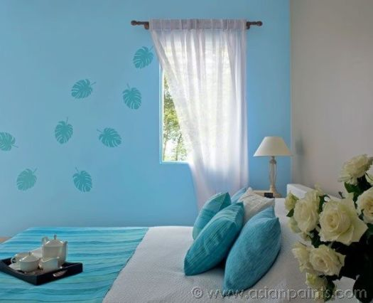 Royale Luxury Emulsion Paints For Bedroom Soft Blue 9210 Warmstone 0n02