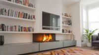Installing a TV above fireplace is a great way to enjoy to ...