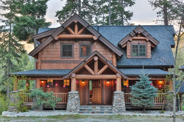 Big Chief Mountain Lodge Natural Element Timber Frame