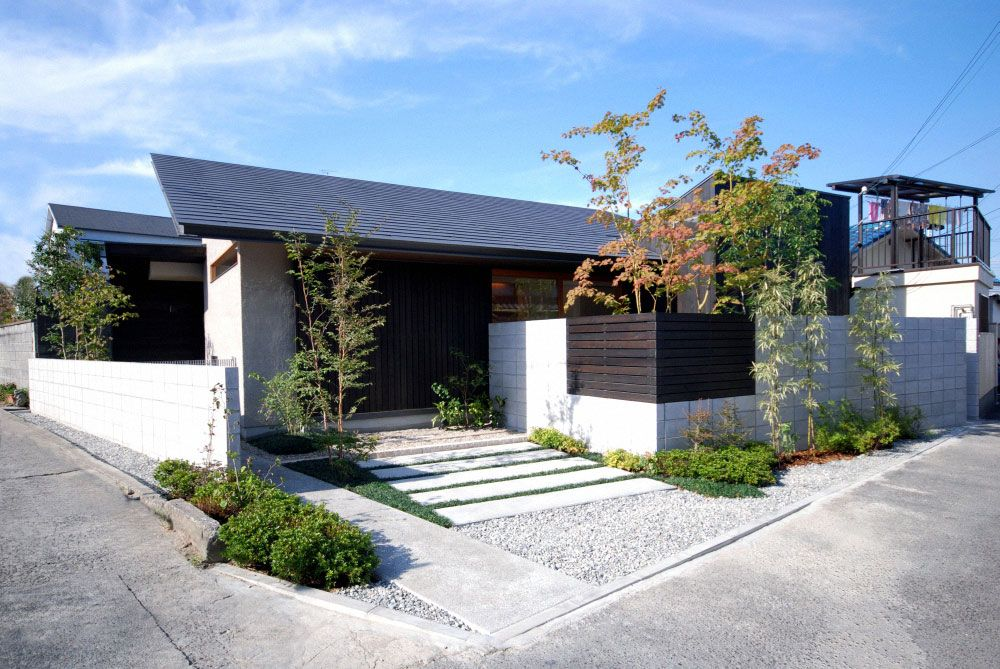 Modern House Design One Story Wood Structure Minimalist Home