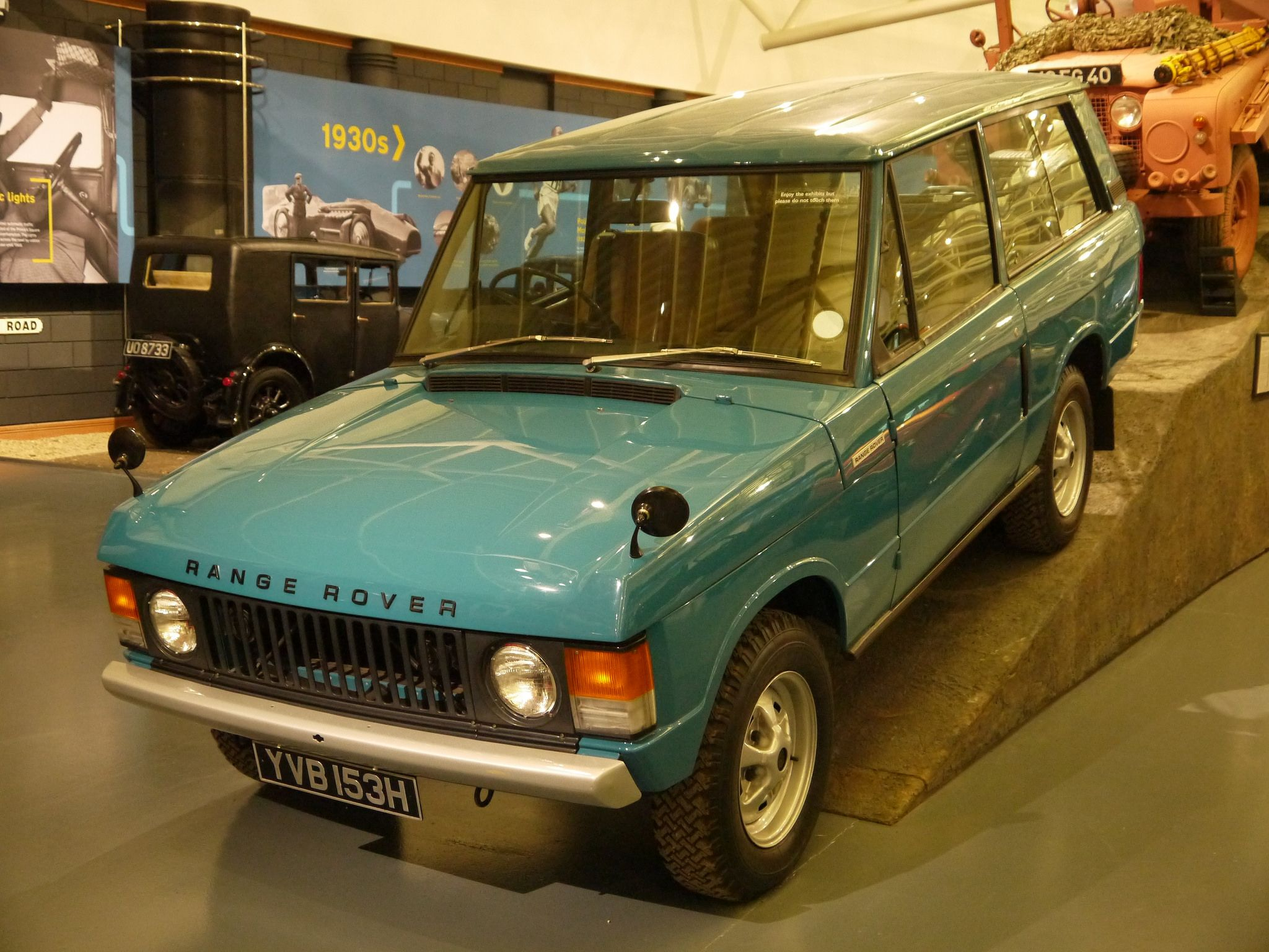 1969 Range Rover by The Transport Guild on DeviantArt