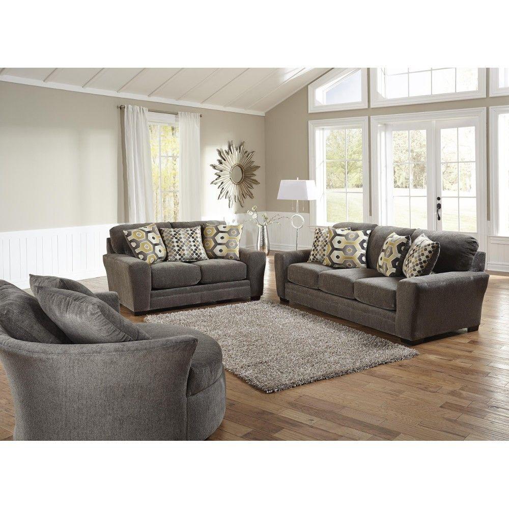 Sax Living Room  Sofa  Loveseat  Grey 3297032844  Conns HomePlus  Conns Home Ideas
