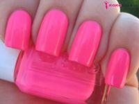 XOXOglam | Neon Pink Nail Polish by Essie, OPI & China ...