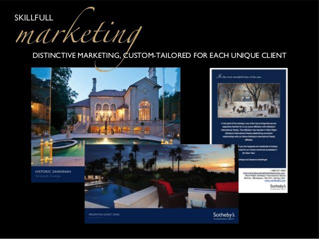 Sothebys Real Estate Postcards Google Search Real