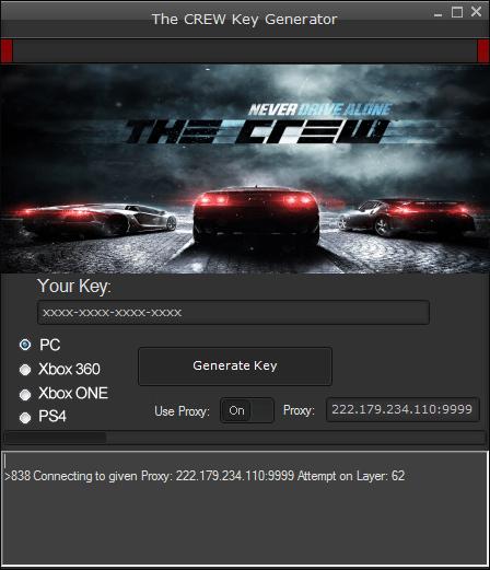 The Crew Serial Key Generator The Crew Serial Key