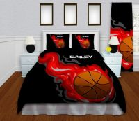 Personalized Comforter for Boys, Kids Sports Bedding ...