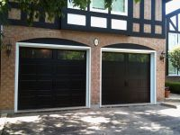 Black garage doors with windows | Dave's for the home ...