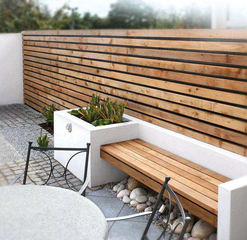 A Small Contemporary Garden Woodpecker Garden And Landscape