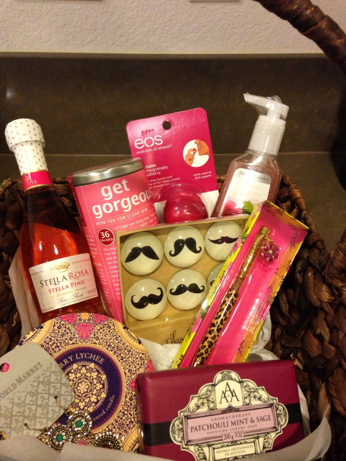 Bosss day gift basket ac stuff you wouldnt think