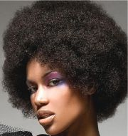 big afro hairstyle women