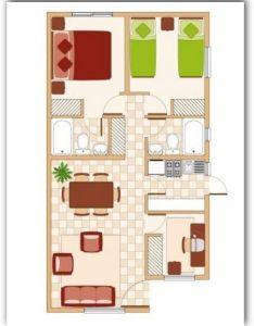 Planos  fachadas de casas bonitas pequenas metros cuadrados also rh pinterest
