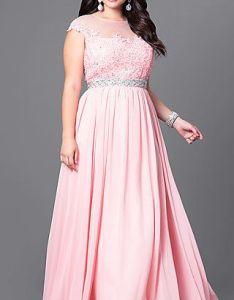 ddf89d7b1ce Shop jeweled waist long plus size formal dresses at simply illusion evening  also rh nz pinterest