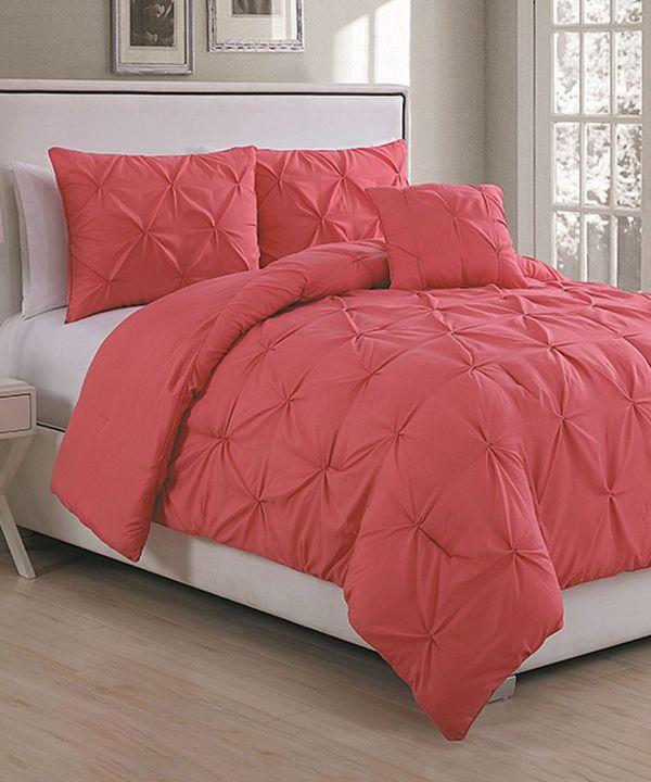 Coral Comforter Set Ideas