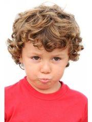 boy curly children's hair styles