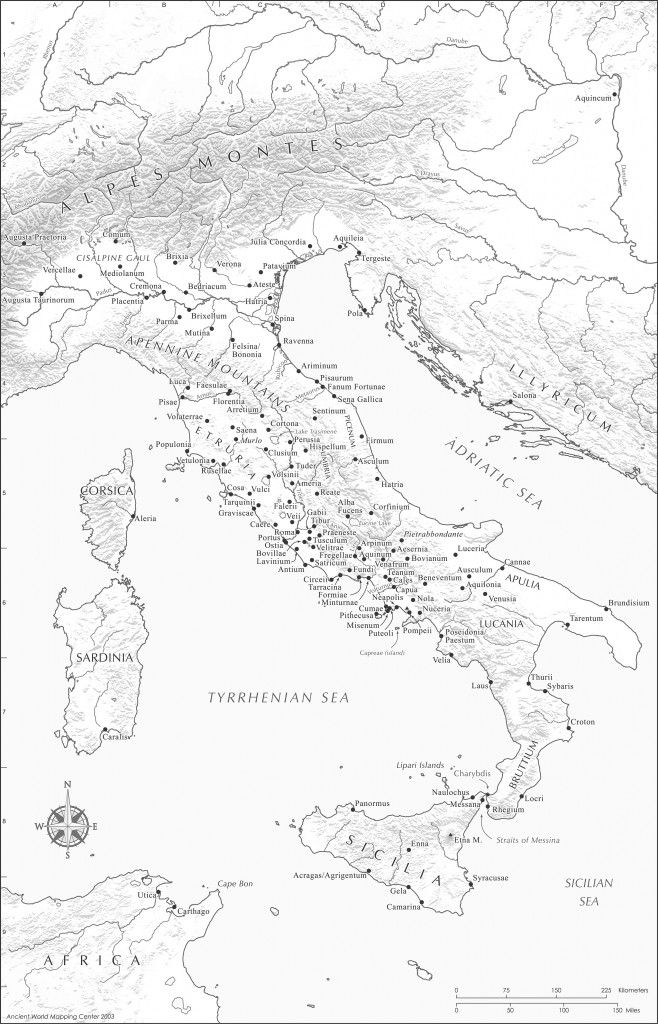 Free Maps of the Ancient World in pdf. Very nice and very