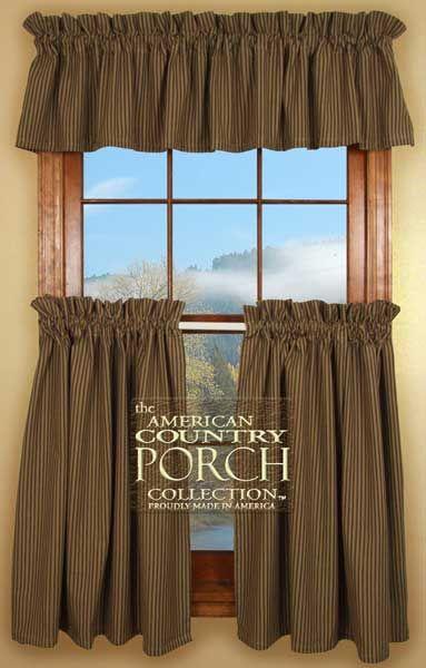 Nancy Nook Burlap Curtains