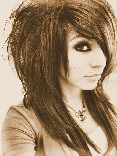 Long Hair With Short Layers On Top Cute Simeple Hairstyles