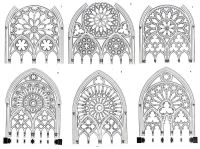 Neo-gothic window designs | history of architecture ...