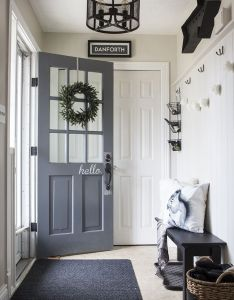 ways to make your home look stylish on  budget front entryway also doors rh pinterest