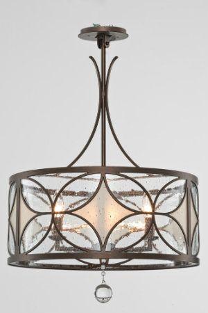 Mixing Materials In Lighting Designs Glass Chandelierchandeliersseededfrosted