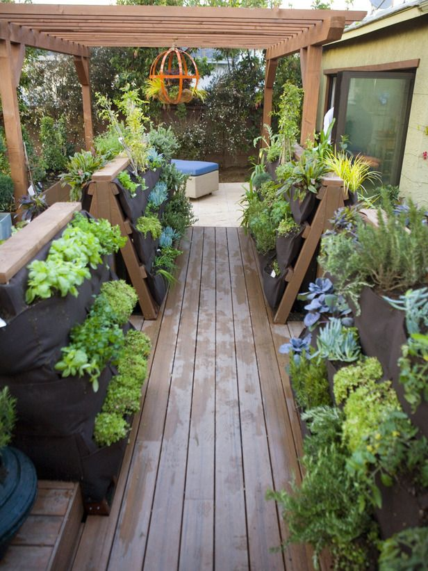 Ideas For Small Patio Gardens The Gardening