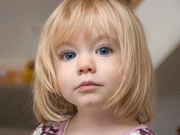 Short Hairstyles For Little Girls With Bangs Fashion Blog For