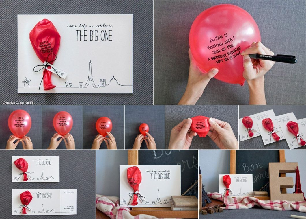 birthday invitations diy   Rezzasite.co