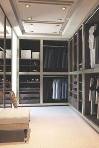Luxury Closets for a modern bedroom #ModernBedroom # ...