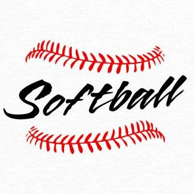 softball laces clip art 09898