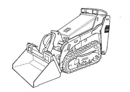 Bobcat MT52 parts catalog Mini track loader Parts manual
