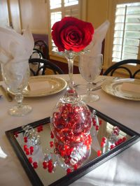 2 LOVE! Valentines Dinner Centerpiece | Holidays ...