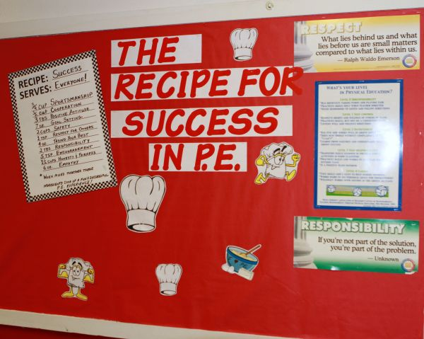 Mental Health Bulletin Board Ideas Physical Education