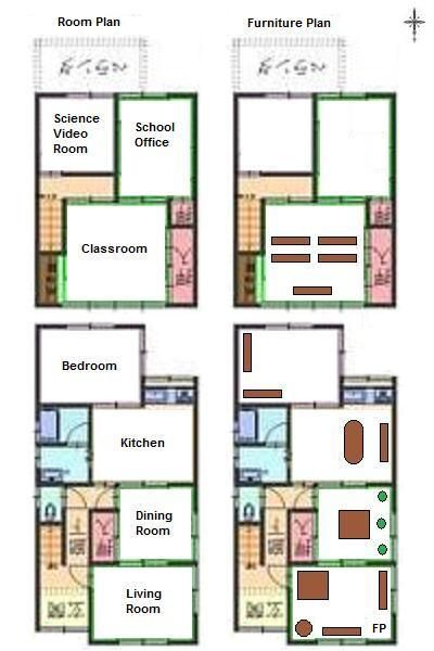 Minimalist Traditional Japanese House Floor Plan Residential