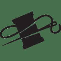 needle+thread | Art Ed Linoldruck silhouette stencil etc ...