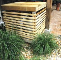 Wood Pool Cover Pump