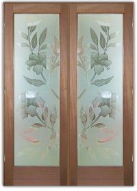 Hibiscus 2D Misted | Glass Front Doors | Pinterest | Doors ...