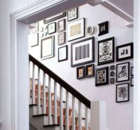 Hallways And Stairs Decorating Tips, Utilizing Empty Space ...