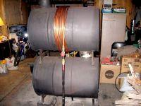 Drum heating | Sangre Earthbuild Project | Pinterest ...