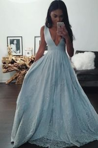 Indian Prom Dress,Black Girl Prom,Light Sky Blue prom ...